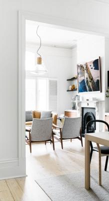 Puitmaterjal, liimpuitkilp, täispuitpõrand, hööveldatud laud - materjalid skandinaavia stiilis kodus27