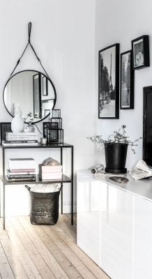 Puitmaterjal, liimpuitkilp, täispuitpõrand, hööveldatud laud - materjalid skandinaavia stiilis kodus30