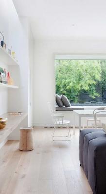 Puitmaterjal, liimpuitkilp, täispuitpõrand, hööveldatud laud - materjalid skandinaavia stiilis kodus38