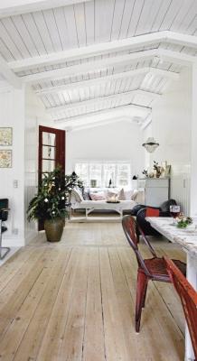 Puitmaterjal, liimpuitkilp, täispuitpõrand, hööveldatud laud - materjalid skandinaavia stiilis kodus50