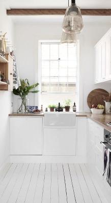 Puitmaterjal, liimpuitkilp, täispuitpõrand, hööveldatud laud - materjalid skandinaavia stiilis kodus59