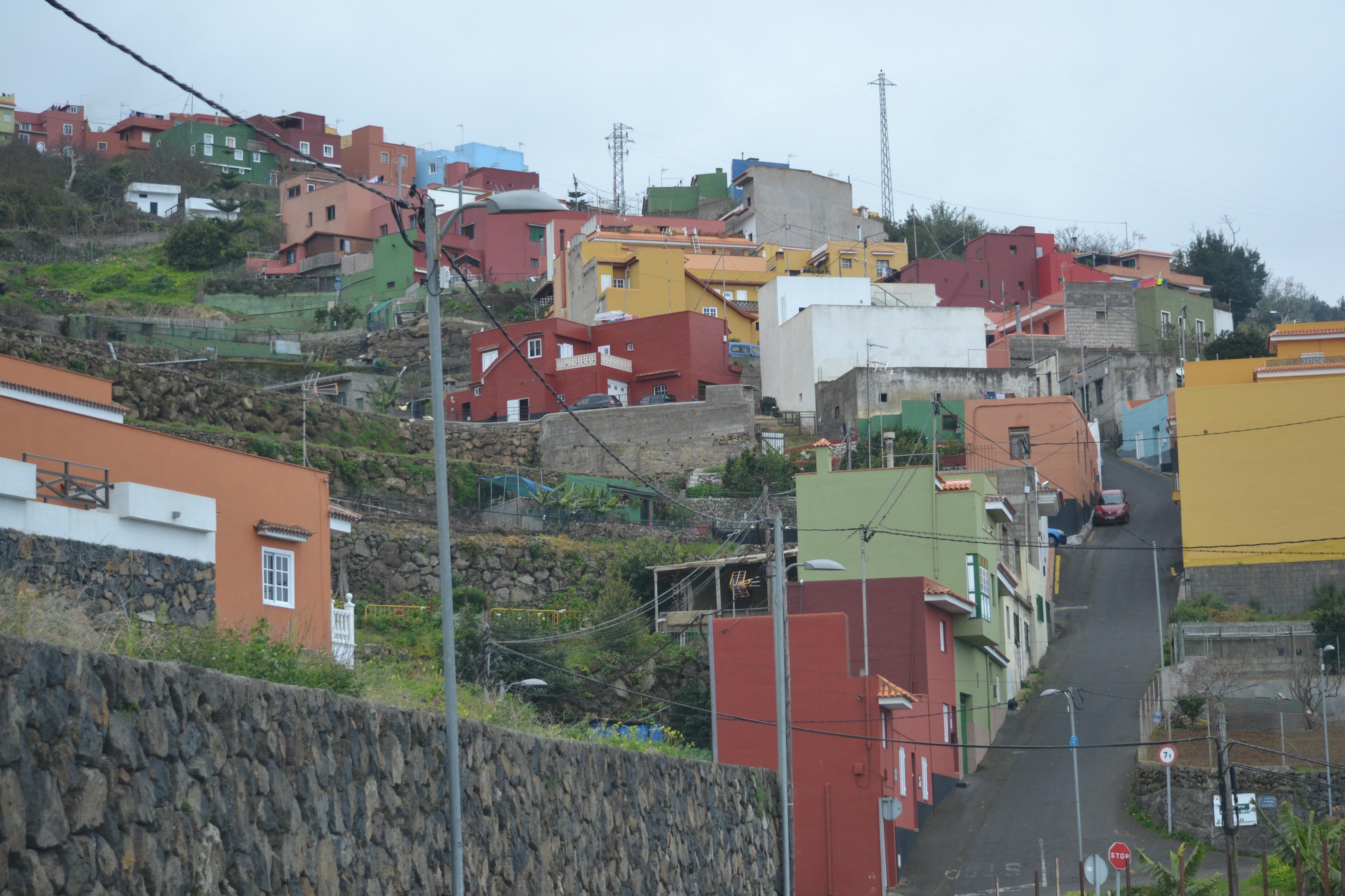 Tenerife värvilised majad