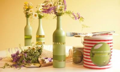 kuidas taaskasutada veinipudeleid
