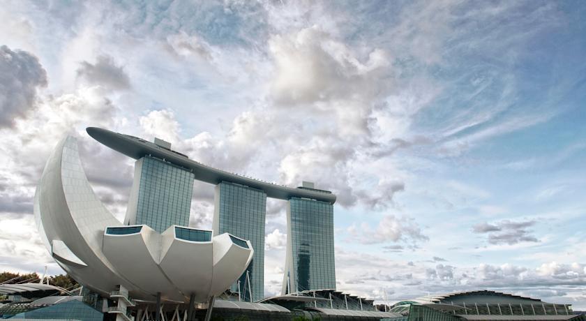 Marina Bay Sands hotell Singapuris