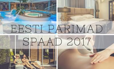 Eesti spaad 2017, eesti parimad spaad, top spaad,