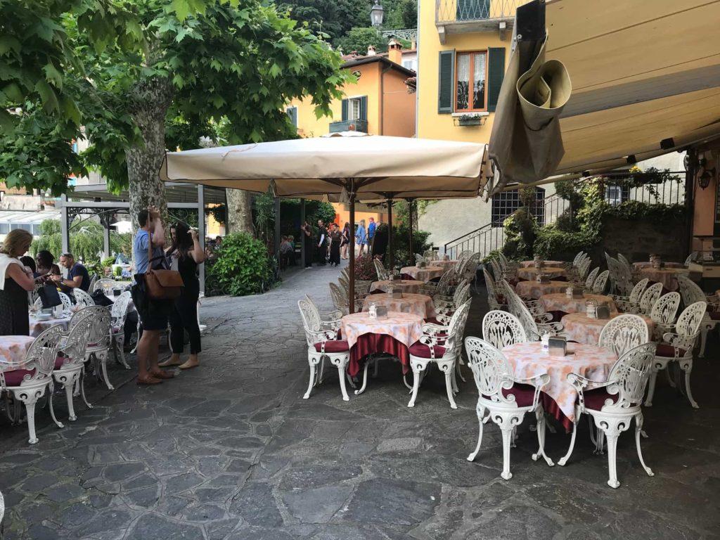 Varenna vaatamisvaarsused Pohja Itaalia Como kohvik