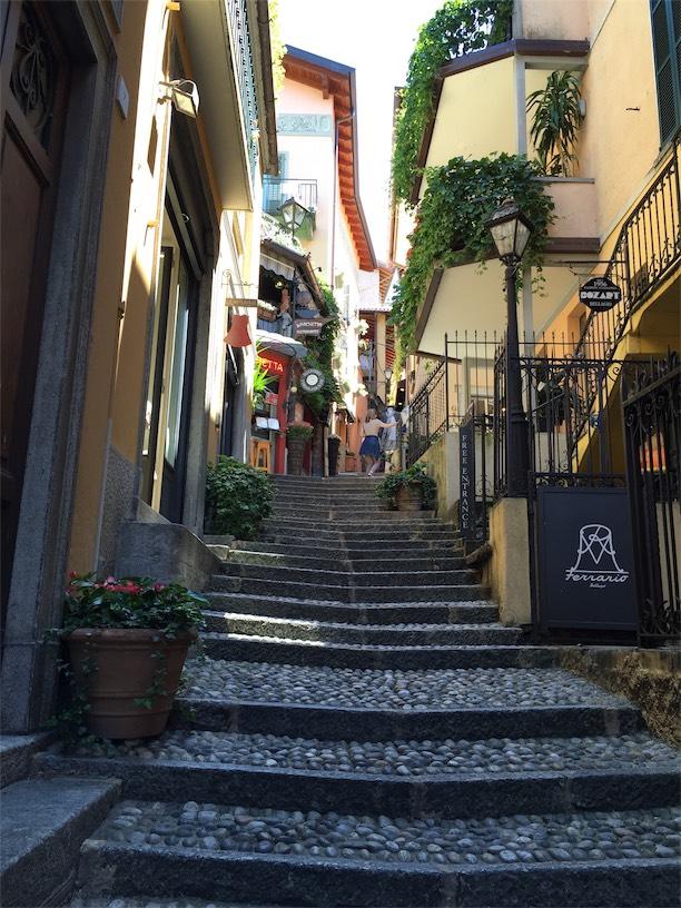bellagio tanavad como jarv pohja itaalia