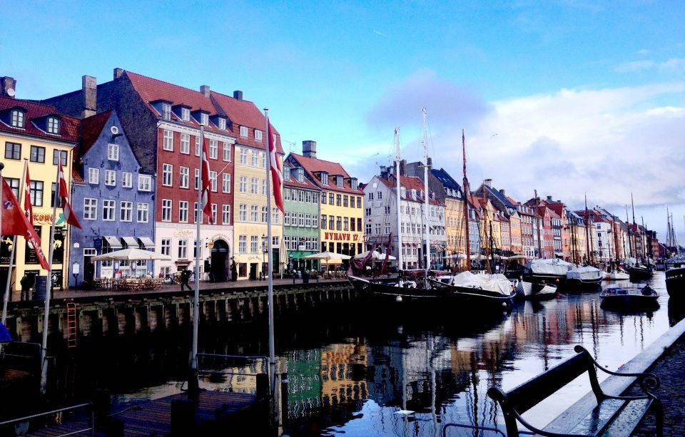 lastega Taani Kopenhaagenisse