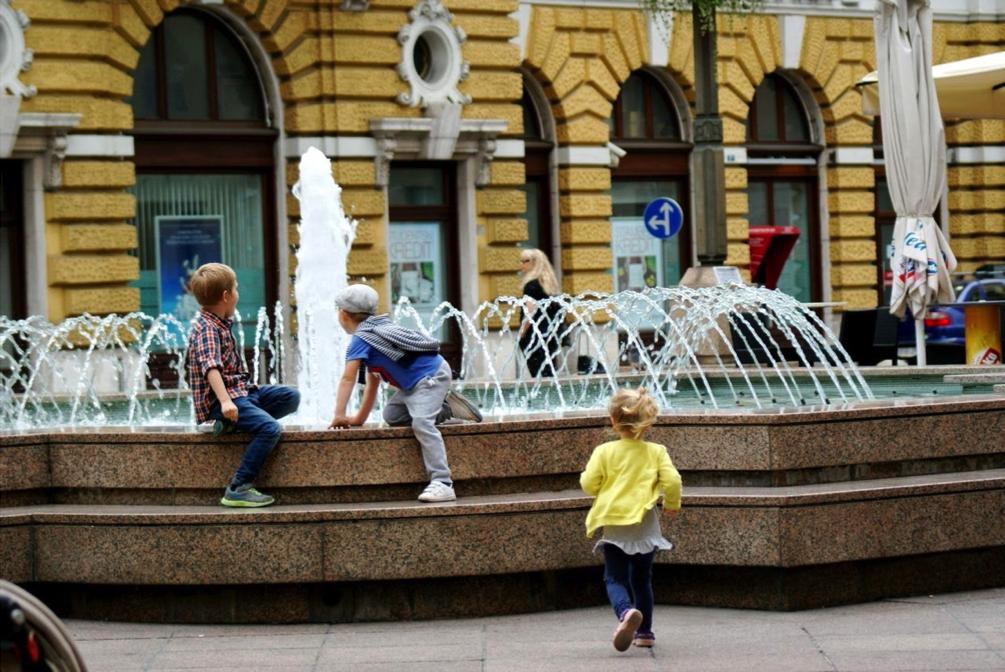 Linnapuhkus Rijekas Horvaatias lastega puhkamine