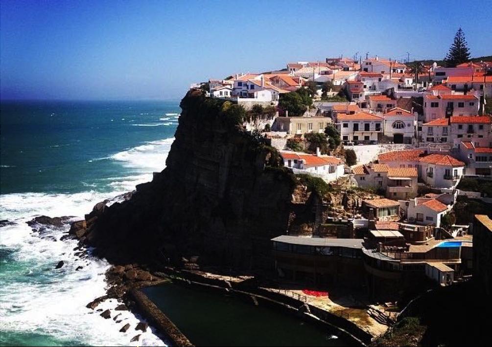 Portugali rannik - lastega reisimine